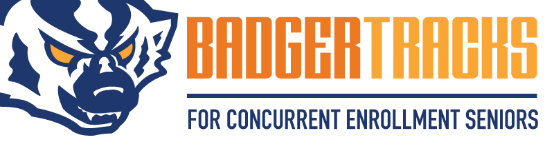 BadgerTracks logo