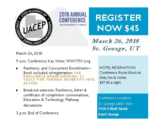 UACEP spring conference