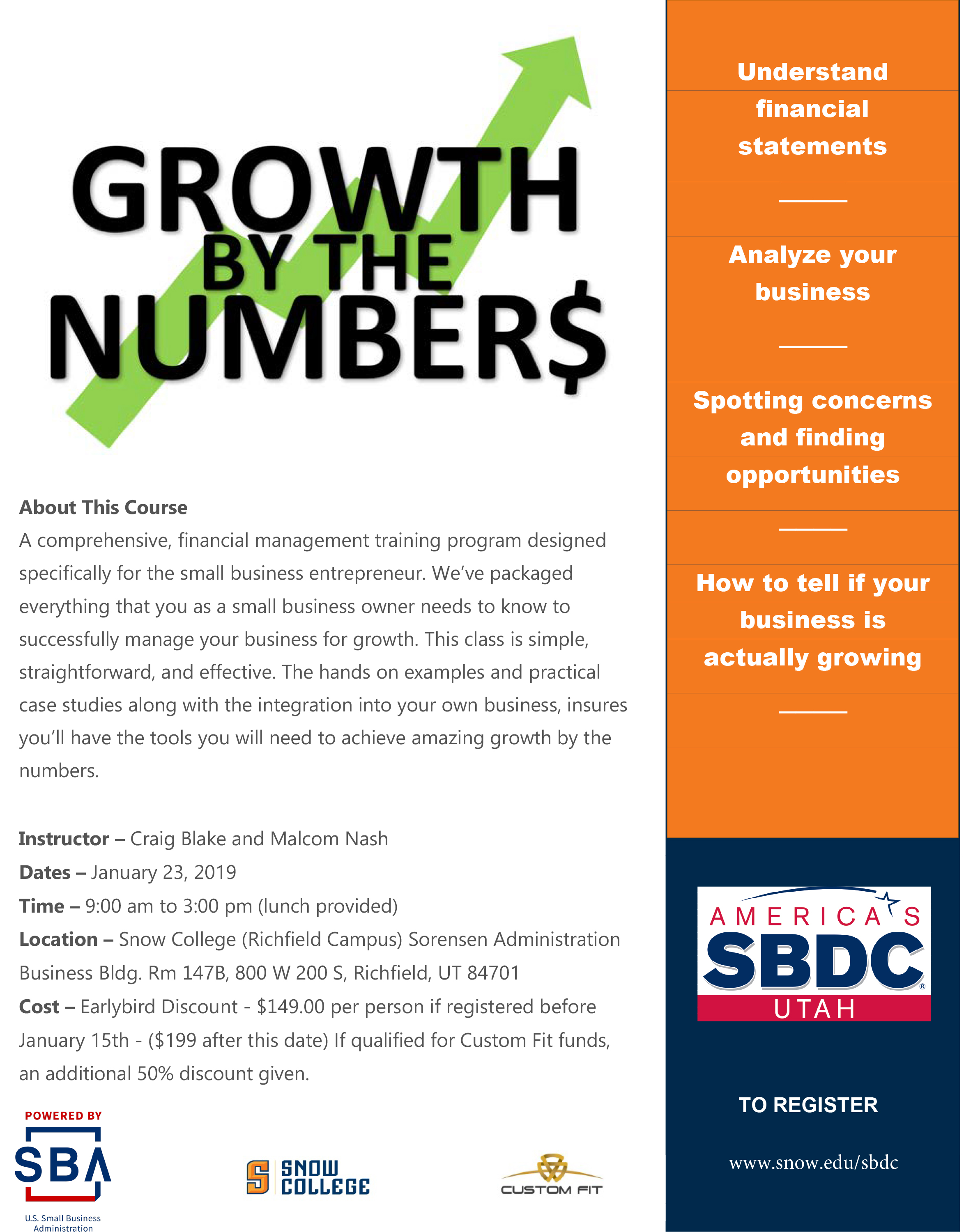 Growth by the Numbers