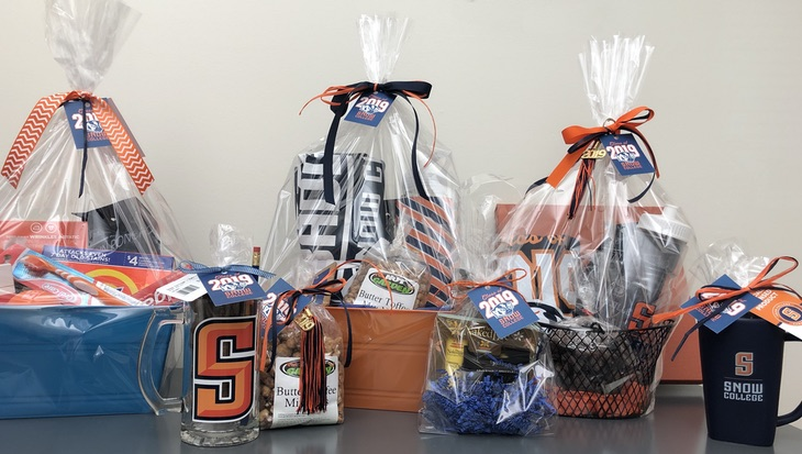 Graduation gift baskets