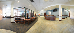 Academy Suites first floor panoramic