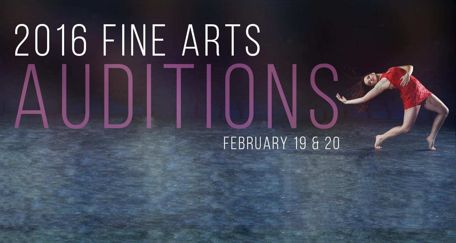 Fine Arts Scholarship Auditions